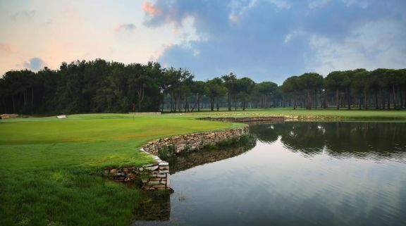 The Gloria Old Golf Course's lovely golf course in stunning Belek.